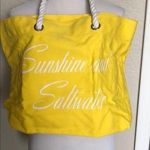 Trina Turk yellow beach bag 🏄🏻♀️🏖🏝⛱